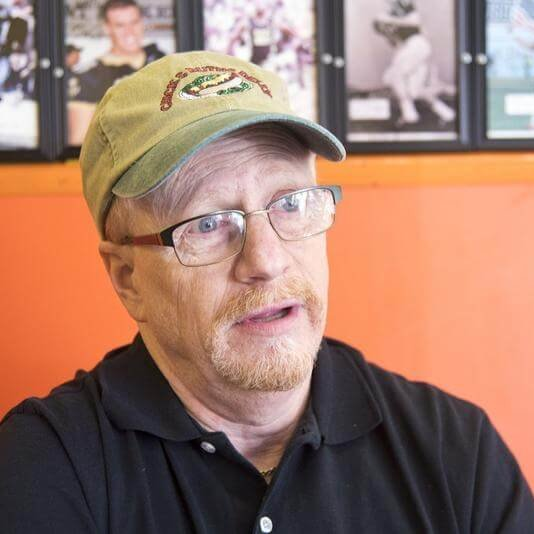 Ted Levitt, who ran Chick and Ruth's Delly in Annapolis after his parents died, talks about retiring and selling the business to new owner Keith Jones late last year. (Joshua McKerrow / Capital Gazette)